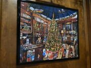 Christmas Seek And Find Hidden Objects - Framed 1000pc Jigsaw Puzzle - See Details