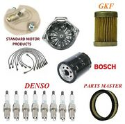 Tune Up Kit Filters Cap Wire Plugs For Pontiac Firebird V8 7.5l 1973