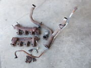 1979 Mustang V8 Oem Exhaust Manifolds, Heat Risers Y Pipe Complete Indy Pace Car