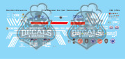 Csx Es44ah Honoring Our Law Enforcement Ho Scale Decal Set Walthers Intermountai