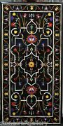 60 X 34 Marble Dining Table Top Pietra Dura Inlay Art For Home Decor And Gifts