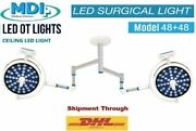 Examination Led Light Operation Theater Led Lamp Surgical Operating Double Dome
