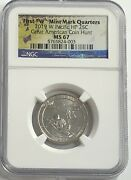 2019 W Ngc Ms67 Guam Quarter American Coin Hunt War In Pacific First W Quarters
