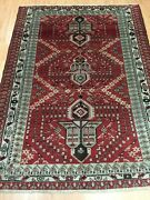 4and0395 X 6and0391 Antique Turkish Oriental Rug - 1930s - Hand Made 100 Wool