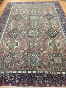7and0399 X 11and0395 Antique Azerbaijani Oriental Rug - 1930s - 100 Wool