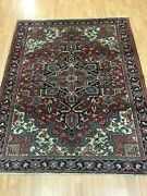4and03910 X 6and0392 Antique Azerbaijani Oriental Rug - 1940s - Hand Made - 100 Wool