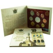 San Marino Kms 2006 St 1 Cent - With Commemorative Coin In Folder