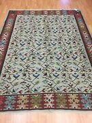 6and0398 X 8and0394 Antique Turkish Bessarabian Oriental Rug - 1930 100 Wool Hand Made