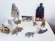 Rare Vintage Star Wars Figures Action Fleet Collection Lot Of 36 Items