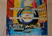 Pinball Poster - Vintage 1979 Poster - Perfect Condition- Stern Mfg.- Gift Idea
