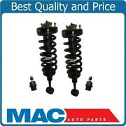 05-08 Ford F150 4x4 Pick Up 2 Front Quick Spring Strut And Mount W Ball Joints