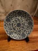 Chinese Dish/plate - Blue And White