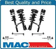99-04 300m Base Frt And Rr Vari Rate Coil Spring Struts With Sway Links 8pc Kit