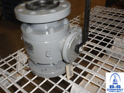 Neway Trunnion Ball Valve 3 300 Raised Face Flange End Full Port Lever Operated