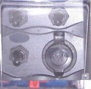 3 Gang Switch Toggle 3-gang Switch 51370 Power 12v Socket15 Amp Fuses Included