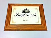 Inglenook Sign Framed Picture California Wines Wood Bar Wine Winery Wines Kp1 1