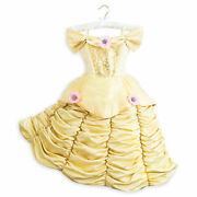 Disney Store Theatrical Deluxe Belle Dress Costume. Size 7/8 Nwt Free Shipping