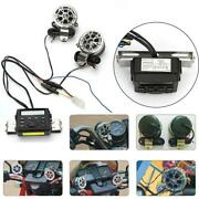 Audio Fm Radio Ipod Stereo Speakers Sound System For Motorcycle Custom