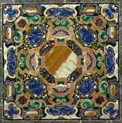 42 Center Marble Table Top Inlay Handicraft Work For Home Decor And Garden