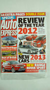 Auto Express Magazine Number 1248 December 19th 2012 Year Review Sealed Unread