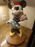 Disney Store 1928 Minnie Mouse Big Figure - Retired - Only 1999 Made - Very Rare