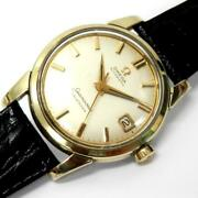 Omega Seamaster Calendar Gf Automatic Stainless Steel Mens Watch Antique