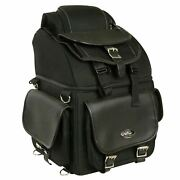 Large 16 Sissy T Bar Tour Bag W/ Conceal Gun And Ammo Pocket For Yamaha - Ysace