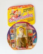 1984 Ideal Poseable Play Pals The Chipmunks Uncle Harry, Vintage 80s Toys