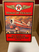 Wings Of Texaco 1930 Travel Air Model R Mystery Ship 5th In The Series New In