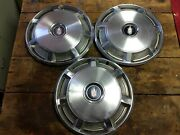 Vintage Oem Hubcaps 15 Inch 1973 - 1977 Chevy Monte Carlo Rim Cover