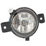 11-13 X5 W/o M Package Front Driving Fog Light Lamp Assembly W/bulb Driver Side