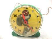 Vintage 1950s General Electric Telechron Trixie Dog Ball Clock Model H828s Works