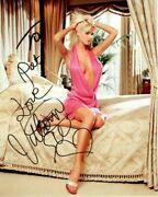 Victoria Silvstedt Autographed Signed Photograph - To Pat