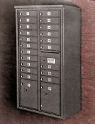 20 Door 4c Mailbox With Surface Collar - Usps Approved