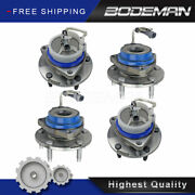 2 Front And 2 Rear Wheel Hub Bearing Set For 1997-2008 Chevy Corvette Cadillac Xlr
