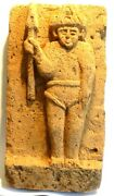 Sculpture In Stone Volcanic - Java - Lava Stone Carved Figure