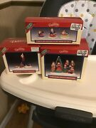 Lemax Dickensvale Porcelain Lot Of Christmas Village Accessories Mib