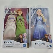 Disney Frozen 2 Ii - Anna And Elsa Dolls + Clothes, Dresses, Girl Gift Toys