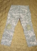 Crye Precision - Combat Pants - Large Short 38 Short Acu Ucp W/ Crye Knee Pads