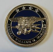 Adm William Mcraven Special Operations Command Socom Navy Seal Challenge Coin V1