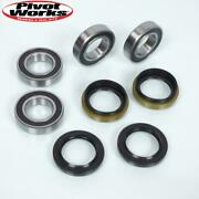Kit Front Wheel Bearing Pivot Works Quad Yamaha 600 Grizzly Of 1998 6006rs