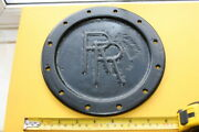 Rolls Royce Silver Ghost Rear Axle Differential Cover Plate Vintage Veteran Part