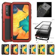 For Samsung Galaxy A20 A30s A40s 2019 Lovemei Armor Waterproof Metal Case Cover