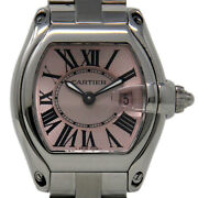 Roadster W62017v3 Small Stainless Steel Pink Box/paper/1yrwarranty 904