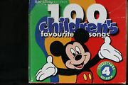 Walt Disney Records 100 Childrenand039s Favourite Songs Collectorand039s 4 Cd Box C975