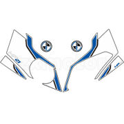 Motorcycle Front Fairing Fish Bone Sticker For Bmw S1000rr Cr Hp4 2012-2014