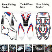 3d Gel Complete Fairing Fuel Tank Pad Decal Sticker For Bmw S1000rr 2012-2014