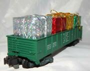 American Flyer 931 Texas And Pacific Gondola W/ Christmas Presents Load Knuckle Tp