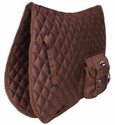 Horse Quilted English Saddle Pad Trail Aussie Australian Dressage Pockets 7284