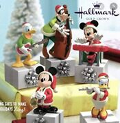 Hallmark Wireless Disney Band Set Of 5 Each One Has Own Case See Pic. New W/tags